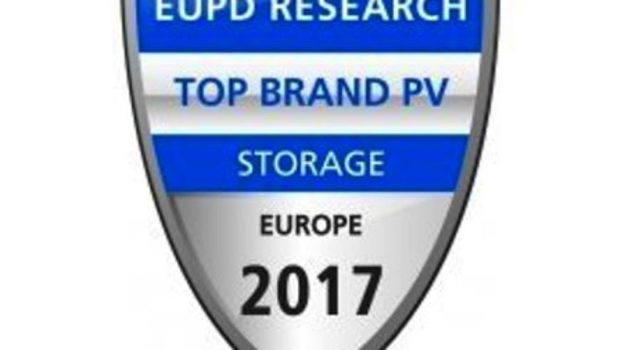 "A SONNEN il primo quality label ""Top Brand PV Storage Europe"" da EuPD Research"